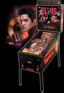 Elvis Pinball Machine Hire UK