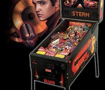 Elvis Pinball Machine Hire UK