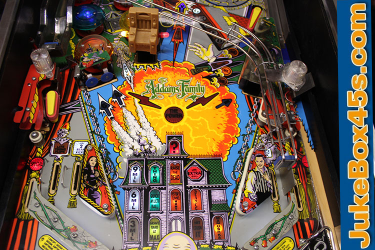 Superb Addams Family Pinball Machines For Sale to Buy UK (05 02 19