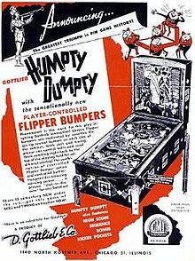 humpty-dumpty-pinball-hire-flipper-uk