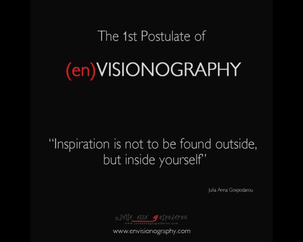 postulates of envisionography - 1st
