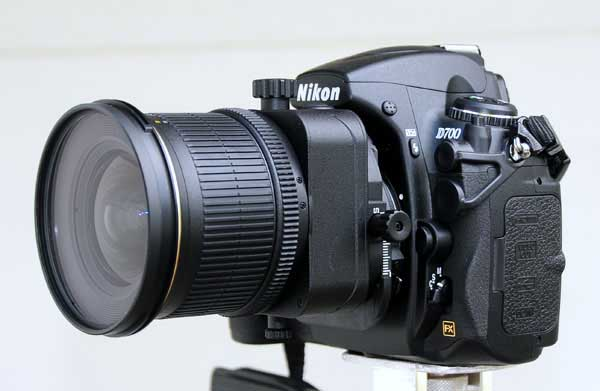 Typical Tilt-shift lens
