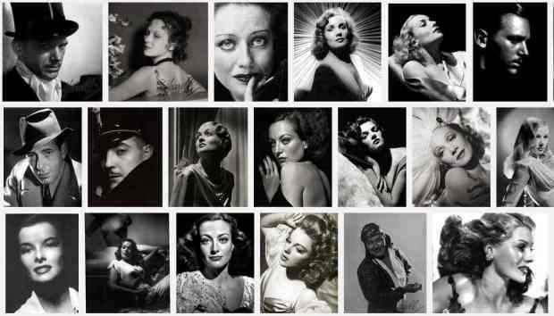 George Hurrell Portrait Compilation