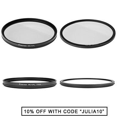 Formatt-hitech Firecrest circular polarizer Filter - regular and super-slim