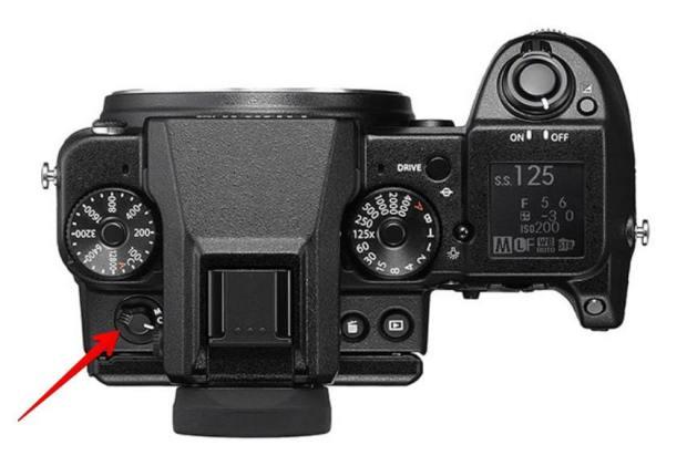 Fujifilm GFX 50S - Auto-focus on off button