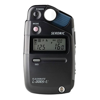 Sekonic L-308S-U Flashmate Digital Incident Reflected and Flash Light Meter