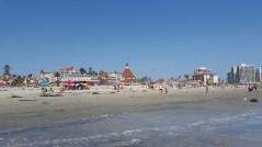 L'hôtel au bord de la plage