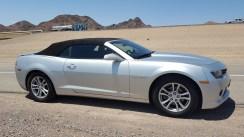 Notre voiture pour notre voyage à Las Vegas