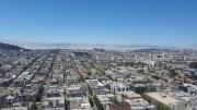 La vue depuis le toit de l'immeuble de Jef