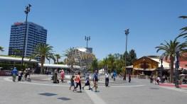 Le fameux globe Universal Studios