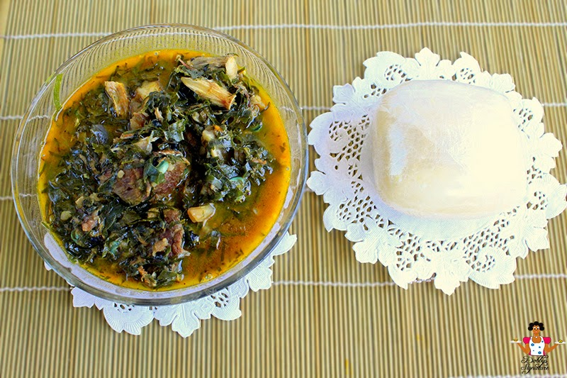 akpu-with-bitterleaf-soup
