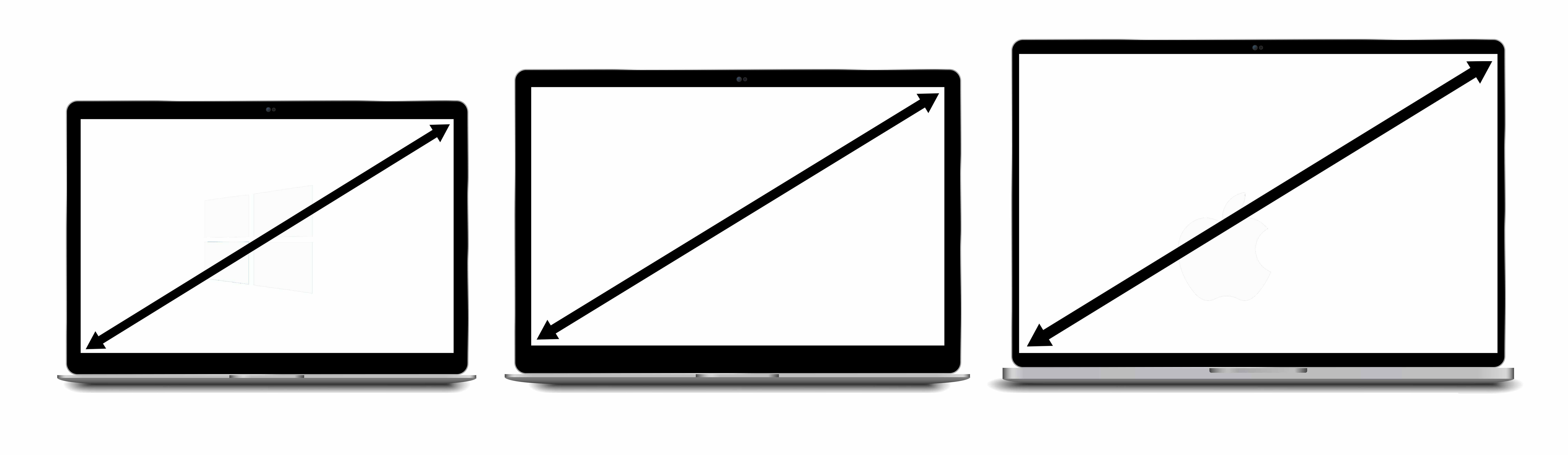 size of the laptop