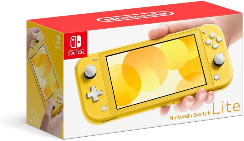 The Nintendo Switch Lite