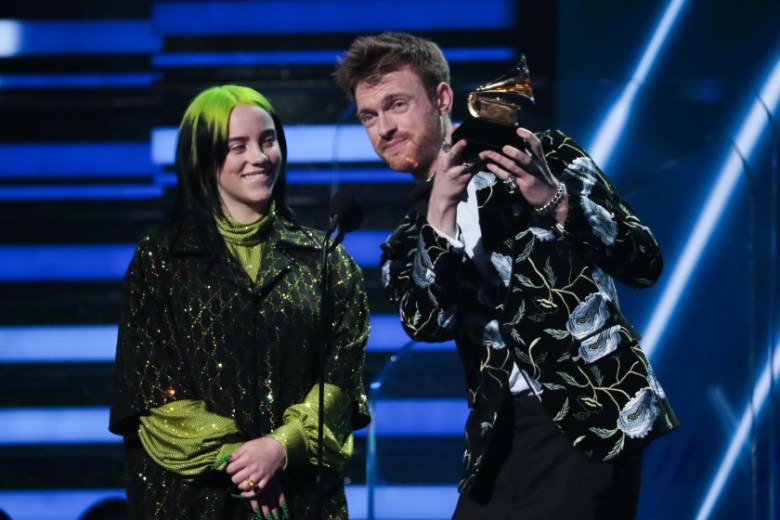 Billie Eilish and brother Finneas dominating the Grammys