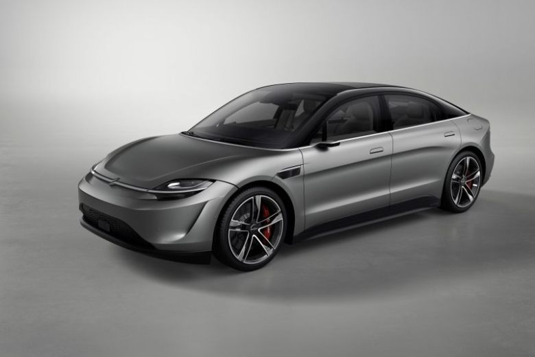 Sony's Vision-S concept car