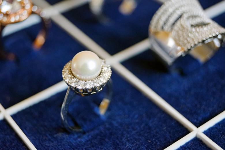 A Jewelry display