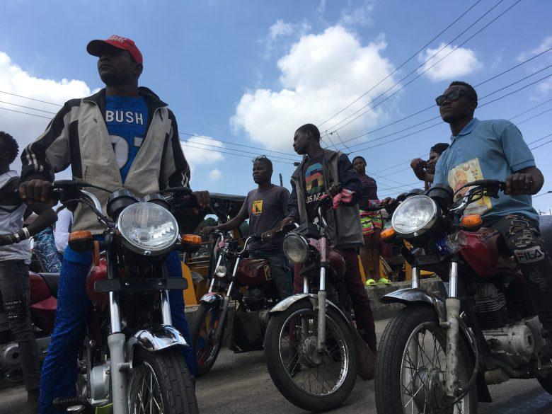 Another group of Okada riders