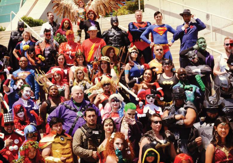 Cosplayers at the San Diego Comic-Con