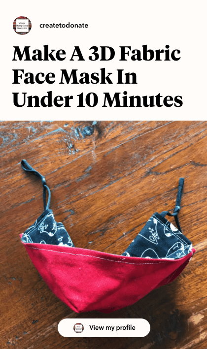 3D face mask in under 10 minutes Jumprope