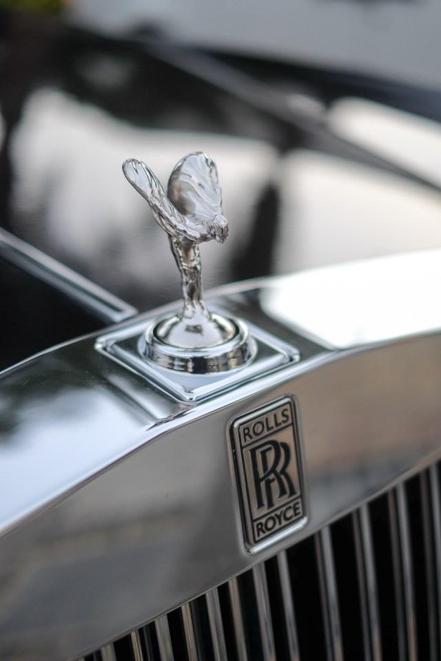 Spirit of Ecstasy Rolls Royce