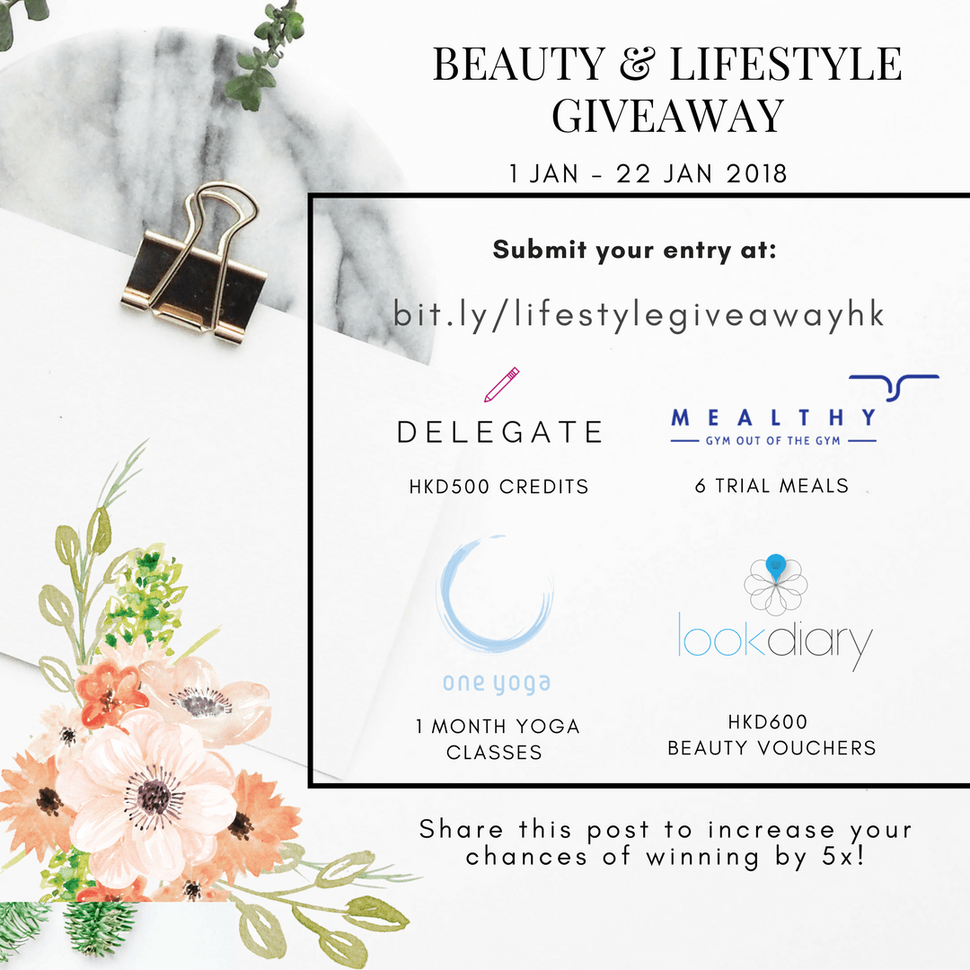 HK Beauty & Lifestyle Giveaway