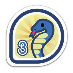 Parselmouth Badge, for Python 3 porting