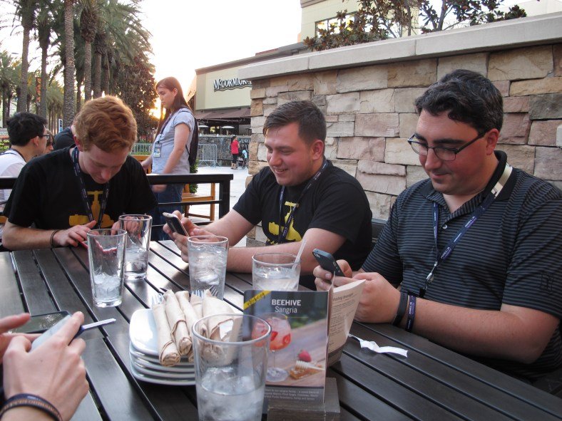We checked Twitter for a moment to find that our feeds were exploding with MINECON activity in Anaheim, California