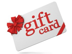 Gift Card for firearm icon