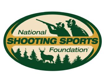 National Shooting Sports Foundation logo extolling gun owners