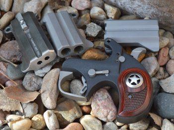 Bond Arms Ranger with three barrel sets