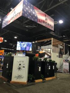 Liberty safe booth 2018 SHOT Show
