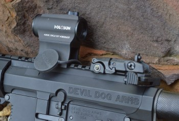 Holosun Paralow HS503C Red Dot Sight with flip up BUIS sights