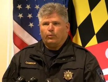 St. Mary's County Sheriff Tim Cameron no guns in school