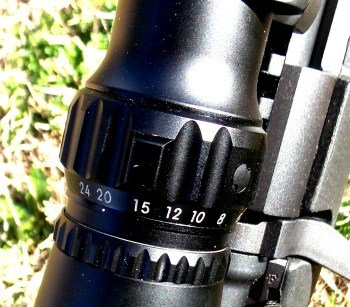 magnification setting on March Rifle Scopes