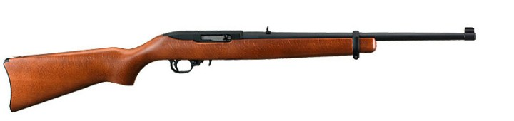 Ruger 10/22 rifle, right profile