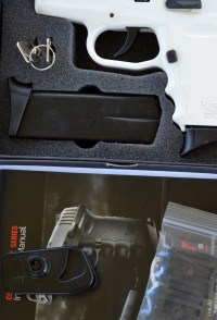 SCCY CPX-2 pistol in case