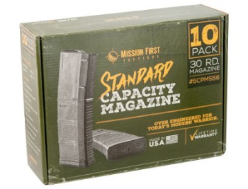 Mission First Tactical standard capacity magazine 10 pack
