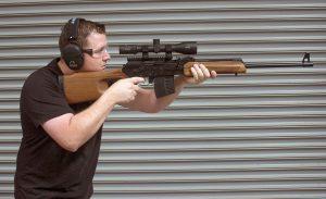 Shooting 7.62 AK