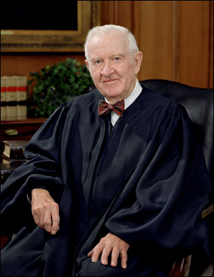 Supreme Court Associate Justice John Paul Stevens