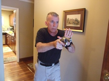 Defending the home with a revolver