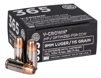 SIG 356 V Crown ammunition