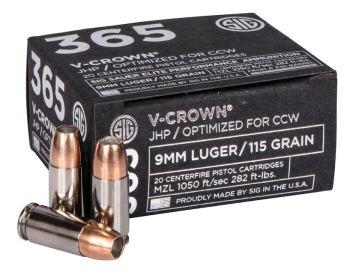 SIG 356 V Crown ammunition
