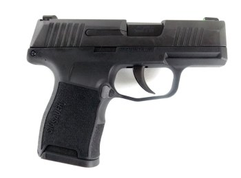 SIG Sauer P365 pistol right black profile