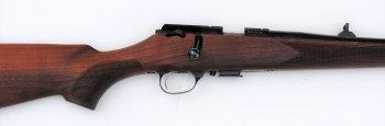 Checkering on the Zastava MP22 rifle
