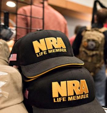 NRA Life Member hats