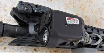 Crimson Trace LiNQ laser light unit