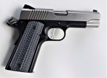 Ruger Commander 1911 with gray G10 grips
