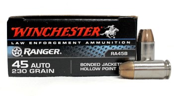 Winchester Ranger Law Enforcement ammunition