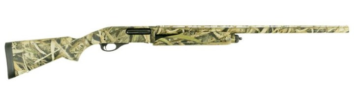 Remington 870 Super Mag 12 gauge shotgun right camo