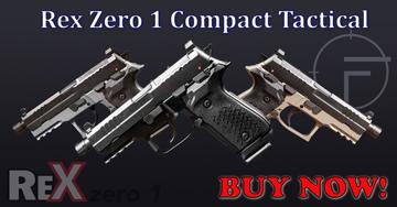 Rex Zero Compact Tactical